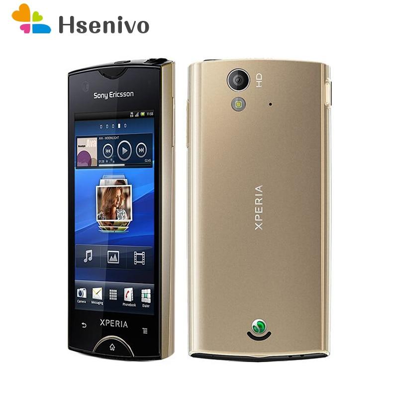 ST18 débloqué Original st18 st18i Sony Ericsson Xperia Ray St18i 3.3 pouces écran tactile 8MP caméra Android téléphone Mobile