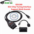 2016 High Quality Galletto 1260 ECU Flasher OBD2 ECU Chip Tuning Interface EOBD 1260 Programmer Read & Write Car ECU In Stock