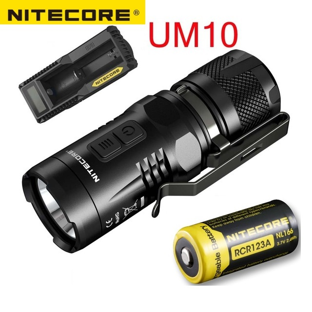 NITECORE EC11 CREE XM-L2 (U2) LED 900 Lumens Flashlight Waterproof Rescue Outdoor Search Camping Free Shipping