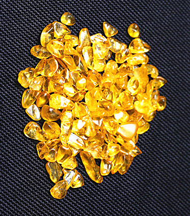 Натуральный кварцевый кристалл, желтый кристалл, гравий, 50 г, оптовая продажа