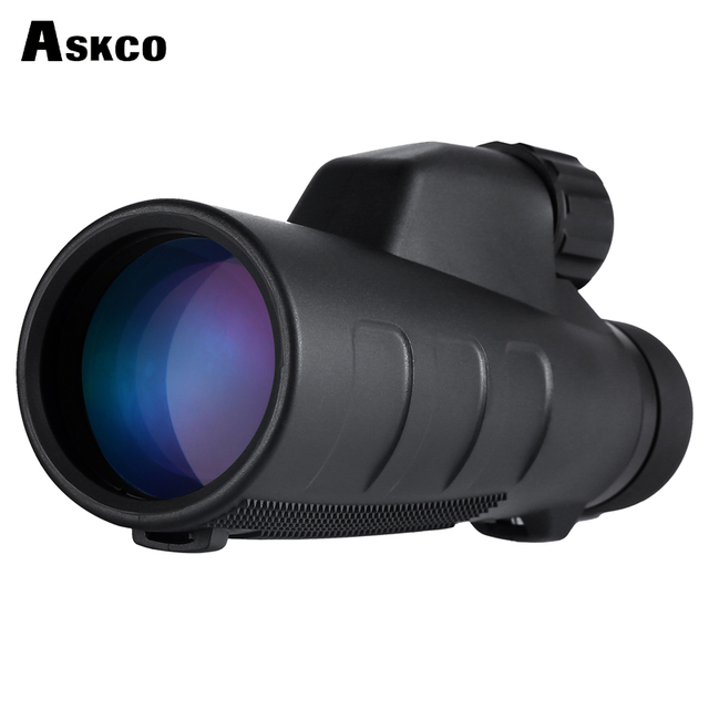 Askco 15x50 High Times Optics Monocular Telescope Waterproof for Hunting Telescope Binoculars High Power with BaK4 Prism AC1550