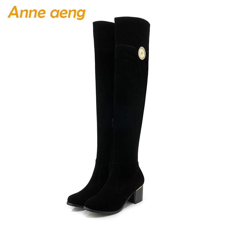 2019 autumn winter women boots over the knee thigh high boots zip ladies sexy warm snow boots black women shoes big size 33-43 meotina women boots high heels thigh high boots winter sexy over knee boots ladies autumn shoes black white shoes big size 10 43