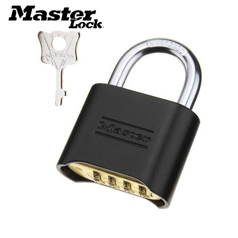MASTER LOCK Brass Password Combination Code Lock Padlock Anti-theft Tamper-proof Anti-corrosion Anti-rusting Waterproof 178MCND