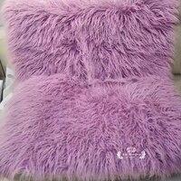 Реквизит для фотографии новорожденных Детское одеяло искусственный мех ковер Stuffers корзина Flokati Stuffer мягкий длинный мех фон Fotografia