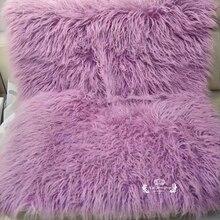 Newborn Photography Props Baby Blanket Faux Fur Rug Stuffers Basket Flokati Stuffer Soft Long Fur Backdrop Fotografia
