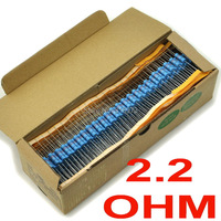 (500 pcs/lot) 2.2 ohm 1% Metal Film Resistors 3W, 3 Watts