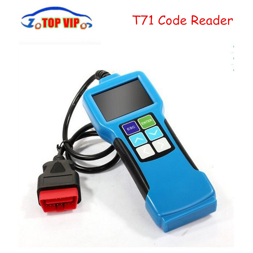 Hot selling Truck Diagnostic Tool T71 For Heavy Truck And Bus OBD2 Code Reader With J1939 J1587 1708 Protocol OBD2 Code Scanner u480 1 5 lcd universal can bus obd2 car diagnostic code reader memo scanner