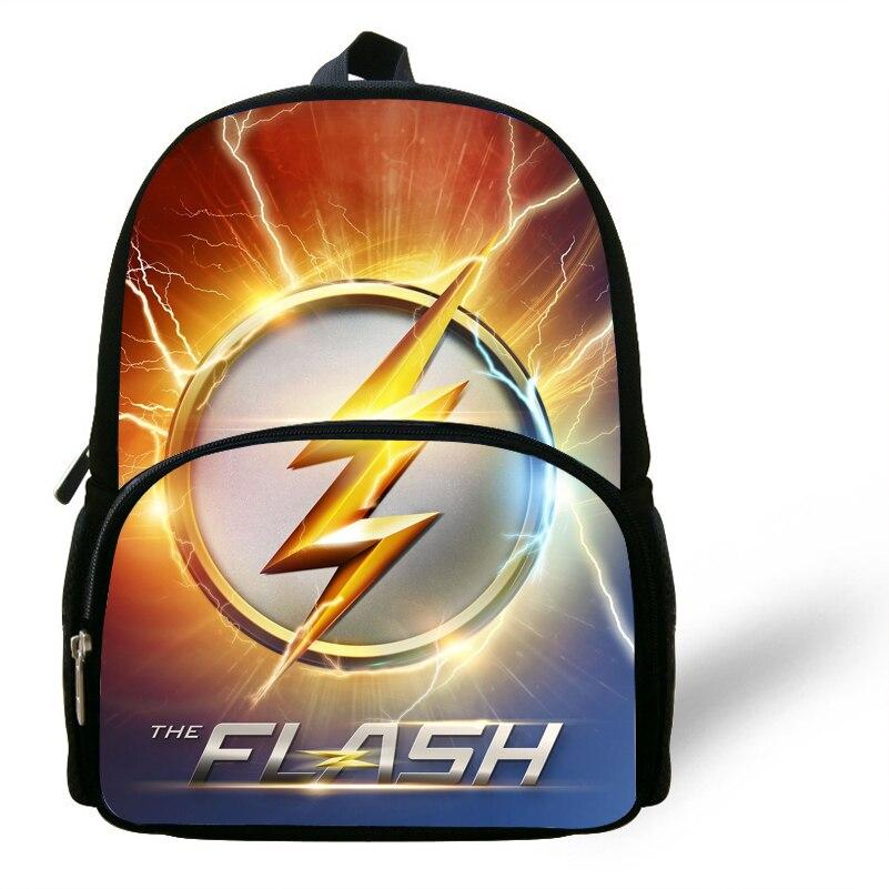 12 Zoll Kühle Superhero Rucksack Für Kinder Jungen Mädchen Die Flash Tasche Für Kinder
