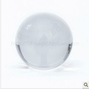 Clear /  light crystal ball / magic ball / contact juggling with good package 100mm free shipping