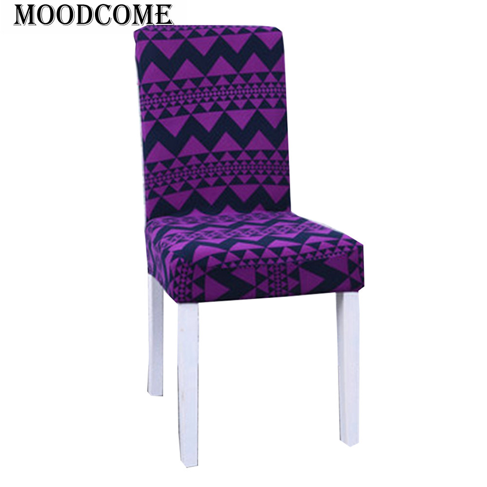 Purple Kitchen Chairs: Purple Wave Spandex Cover For Chairs Kitchen New Arrival