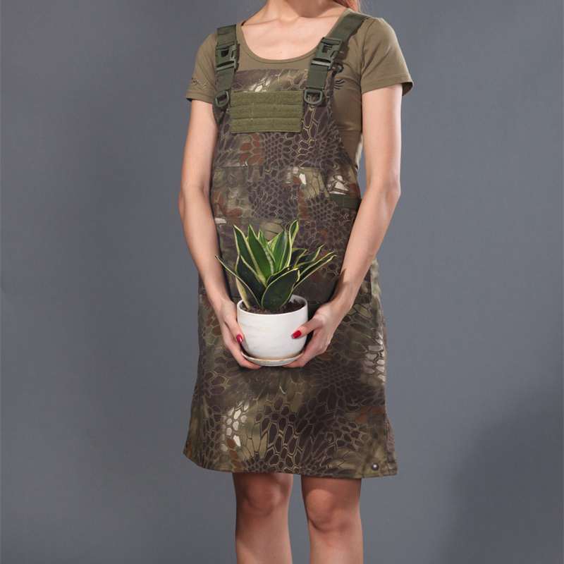 Man Tactical Aprons 65/35 P/C Ripstop Tactical Aprons Krypteck camouflage Nomad working Apron for trainning 1