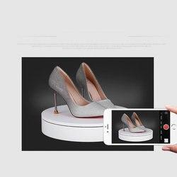 HQ 32X6 CM Durchmesser 360 Grad Elektrische Drehteller Display Ständer Lazy Susan für Fotografie Schießen Basis