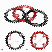 Cheap Shipping Cheap Shipping CNC Single Chainring B.C.D 104*5mm Bike Chain Ring 1 System Compatible For S H I M A Round Tooth