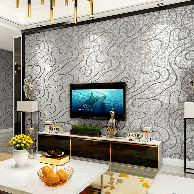 3D Luxury Silver Grey Geometric Abstract Stripe Background Wallpaper ...