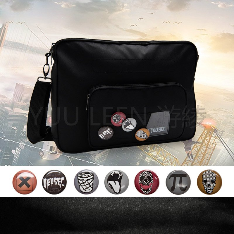 Game Marcus Holloway Cosplay Bag Adult Unisex Cosplay Costume Accessories