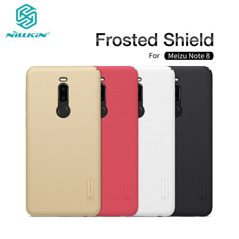 Meizu Note 8 Case M8 Note Cover Nillkin Frosted Shield PC Hard Back Casing Case for Meizu Note 8 6.0''