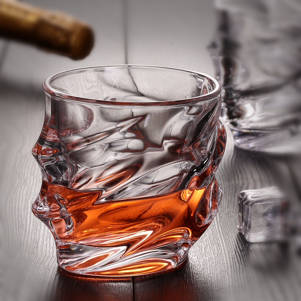 1pcs Whiskey Glasses Premium Lead Free Crystal Glass Cups
