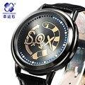 SOX Xingyunshi Digitais LEVOU relógios Luminosos Marca Relógio Para Homens de Negócios Dos Homens Relógio de Pulso À Prova D' Água Relogio Relógio Caixa Original
