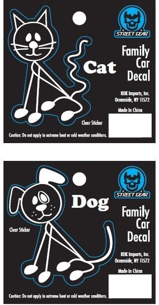 (10 Design)Fashion family stickers for car stick family stickers,custom  family car