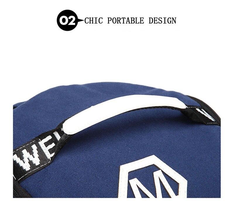 Men's Multi-Functional Backpack Vintage Shoulder Bag High Quality Canvas Male Bagpack Rucksack Travel Luggage for Weekend 19