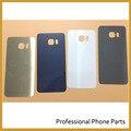 10 шт./лот, Оригинальный Вернуться Батареи Крышка Стекла Для Samsung Galaxy S6 edge Plus Задний Корпус Двери + ЛОГОТИП, темно-Синий/Белый/Серый/Золото