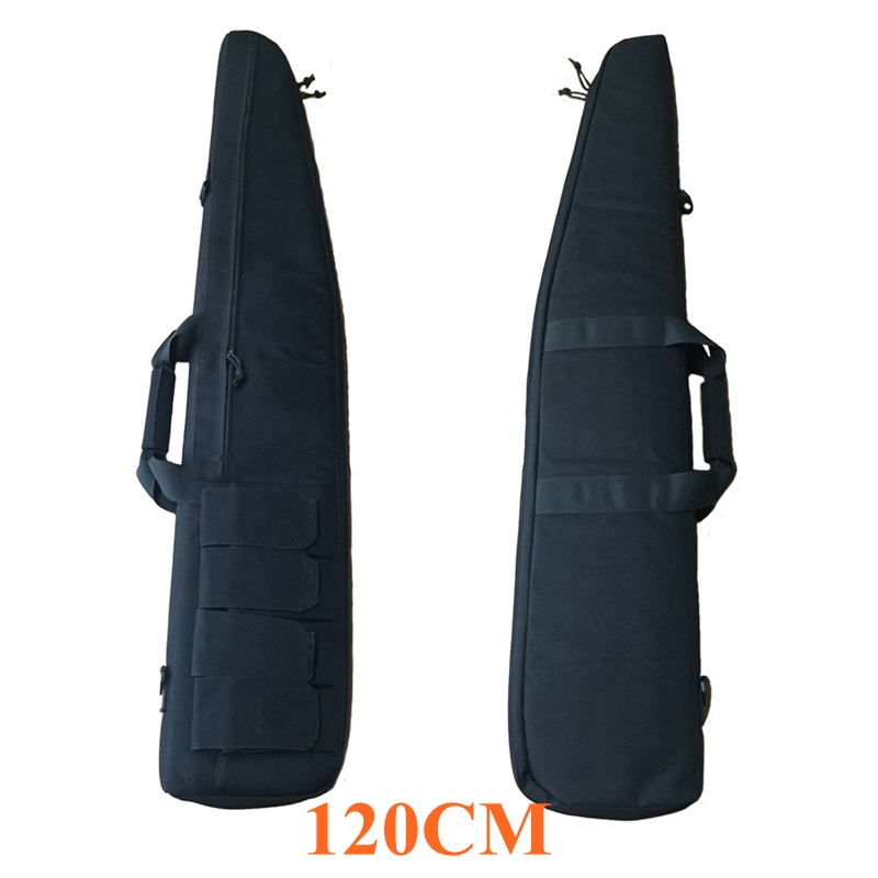 120CM Large Tactical Gun Bag Nylon Shoulder Rifle Bag W/ Magazine Pouches Military Army Outdoor Shooting Huntting Hand Gun Bag