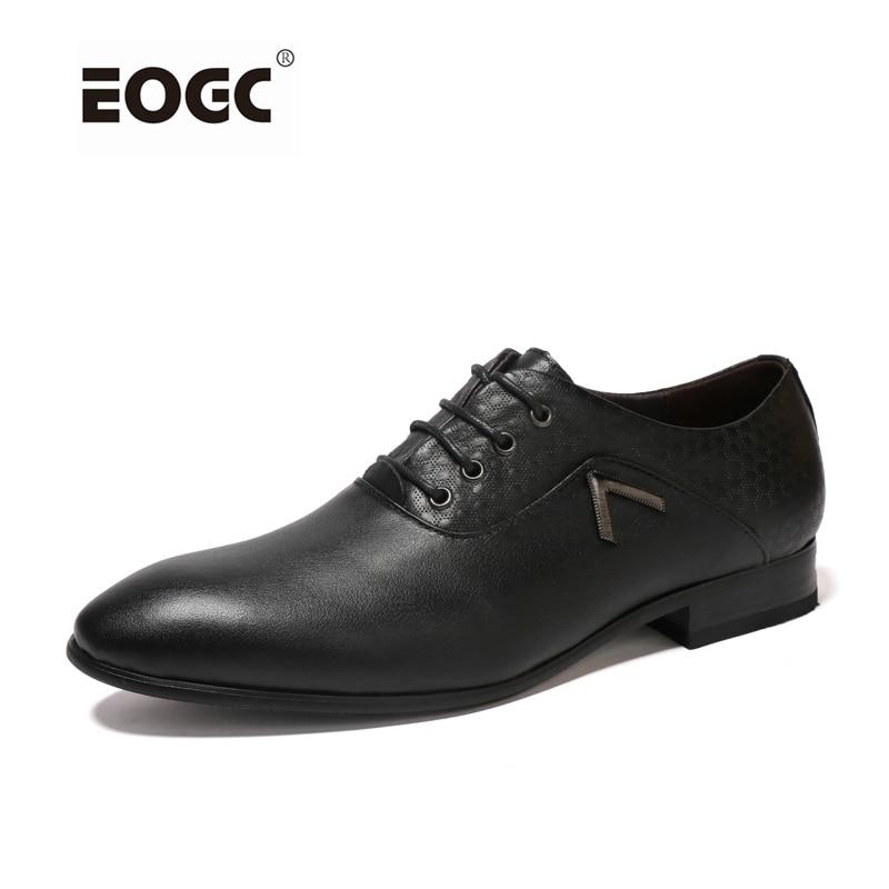 Handmade genuine leather men shoes business dress shoes,fashion oxford shoes for men,plus size men flats shoes genuine leather shoes men handmade