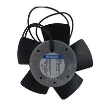 Осевой вентилятор переменного тока Ebmpapst 4656EZ 119x119x38 мм 160m3/h 230 V AC 19 W 2650 rpm Вентилятор охлаждения