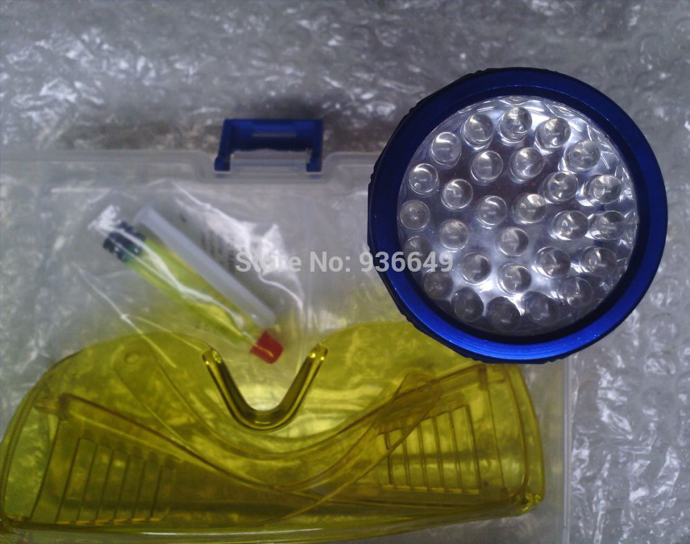 FOR Car household air conditioning neon flashlight leak detector tools refrigerant lamp please contact genuine leap brand refrigeration tools over the mini cylinder refrigerant recovery machine vrr12l refrigerant recovery machine