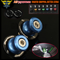 8 mm Blue M8 Motorcycle Swingarm Sliders Spools For For SUZUKI HAYABUSA GSX1300R 1999 2000 2001 2002 2003 2004 2005 2006 2007