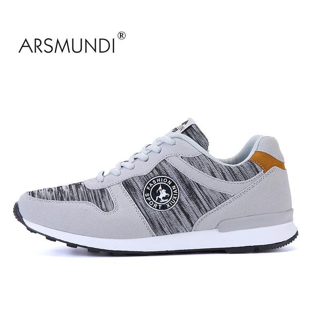 e0408bc456f8e5 ARSMUNDI Original Men s Walking Shoes JL-807 Fall 2018 PU Breathable  Waterproof Leisure Walking Shoes Mens Walking Shoes
