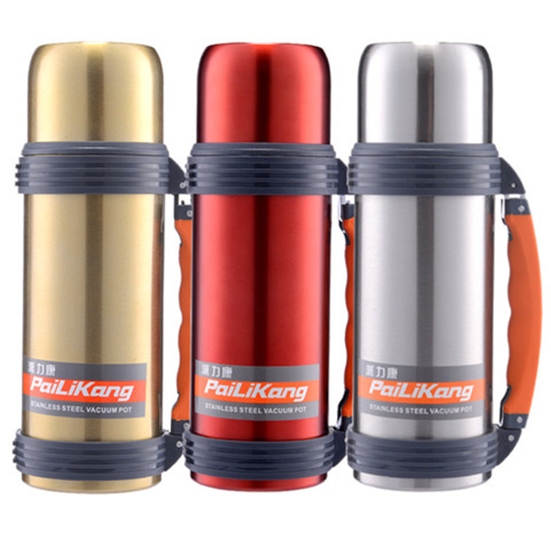 304 Stainless Steel Insulated Water Bottle Vacuum Flasks Thermoses Coffee Travel Mug Termos Thermal Cup Tumbler Thermos Bottle 农夫 山泉