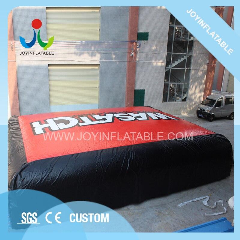 Sac de cascade gonflable de 8X6 M pour le saut de vélo ou le saut de Sking