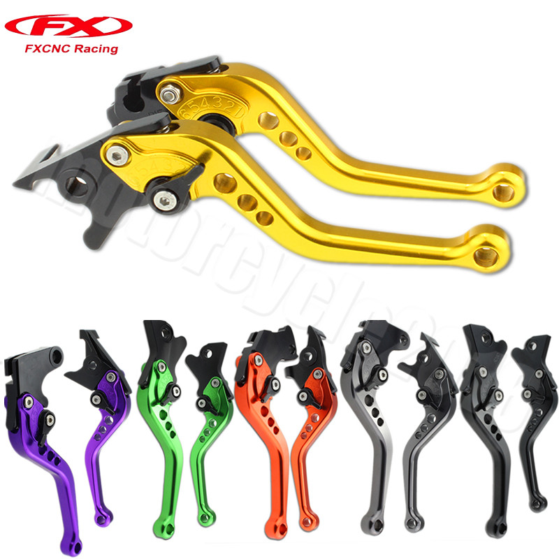 FXCNC Aluminum Adjustable Motorcycles Brake Clutch Levers For YAMAHA YZF R1 1999-2001 2000 Motobike Clutch Lever Brake Handle  fxcnc aluminum adjustable motorcycles brake clutch levers for yamaha fzr600 1989 2003 2000 2001 2002 moto brake clutch lever