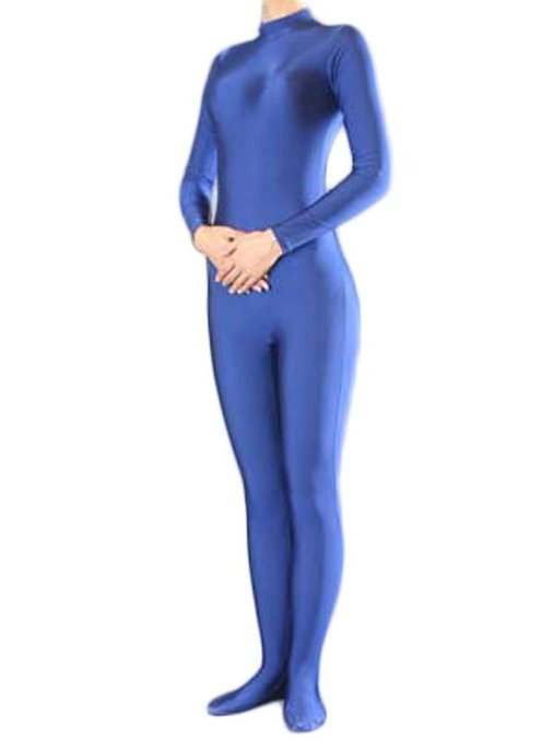 bodysuit Blue spandex