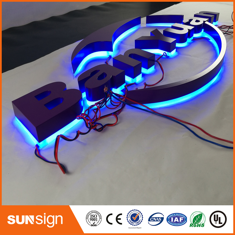 3D LED Backlit Business Signs
