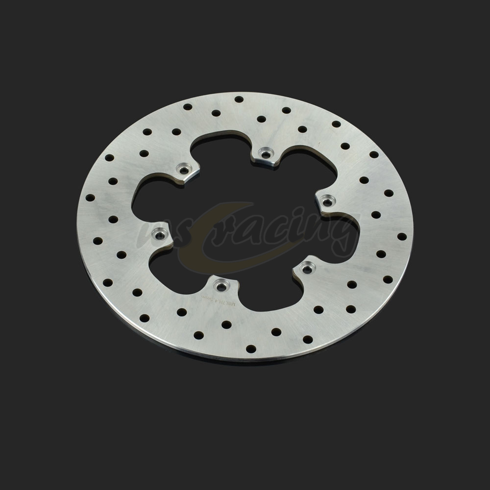ФОТО Outer Diameter 240MM Stainless Steel Rear Brake Disc Rotor For BMW F650 93-09 F650CS F650GS F650ST F 650 GS Daker