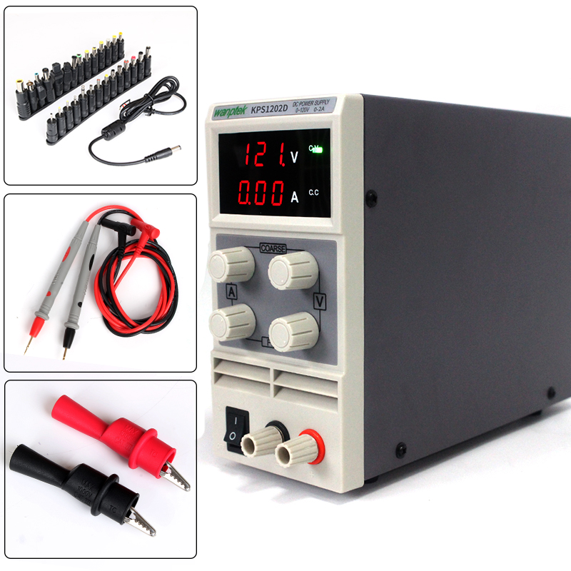 for production line testing and charging Adjustable 120V 2A 110V/220V 0.1V/0.01A double LED display switch DC Power Supply maushmi kumar and vikas verma lipstatin fermentative production