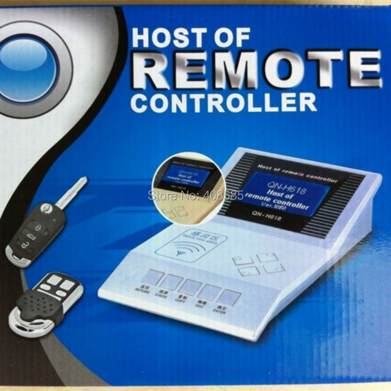 Host of Remote Controller Remote Master For QN-H618 Wireless RF Remote Controller H618 Auto Key Maker Programmer