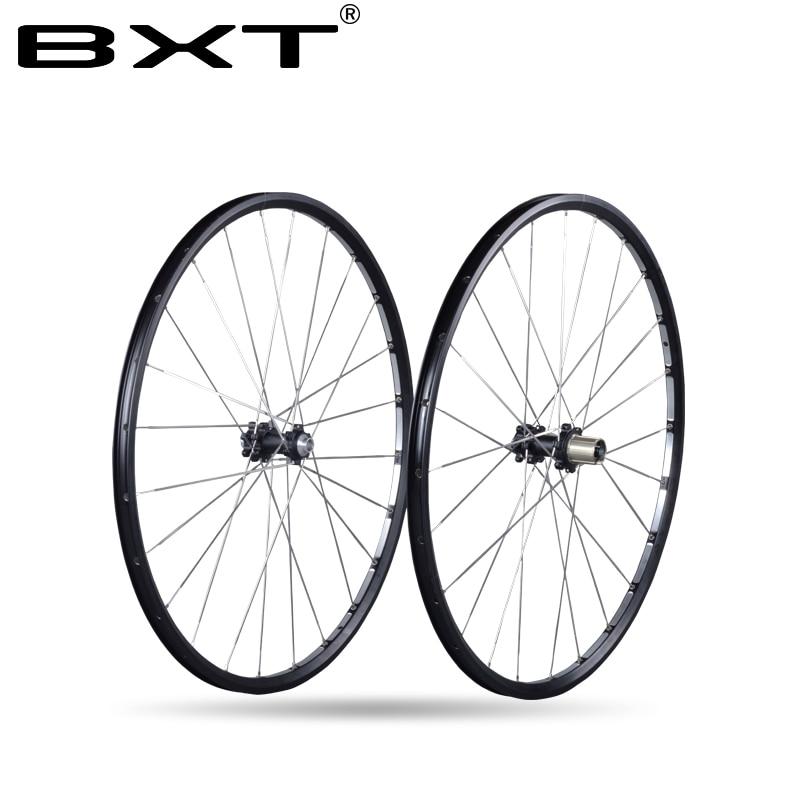 2018 Asse 142*12mm MTB Mountain Bike 29er 27.5er Sei Fori Disco freno della bicicletta Ruota CR 24 H 11 Velocità Supporto In Lega Rim Wheelset