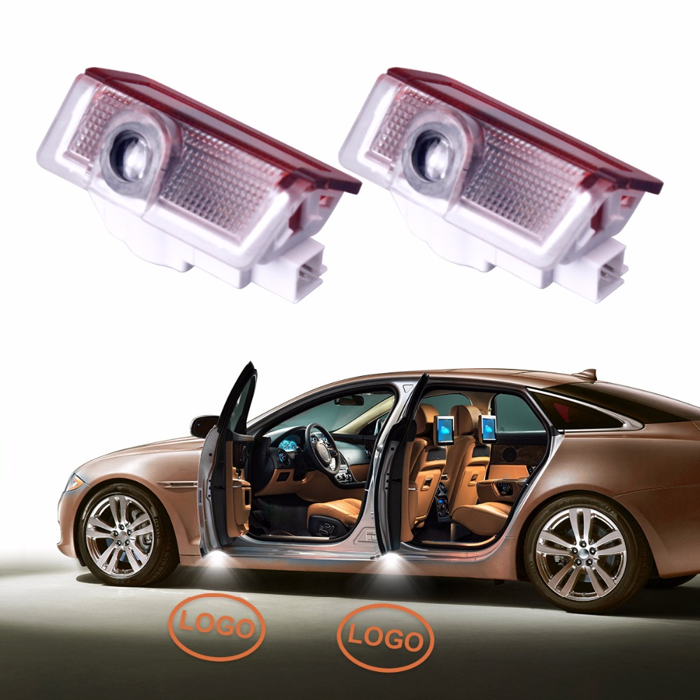 Newest 2Pcs Car Door Welcome Light Laser Ghost Shadow Lights Logo Projector Guest Lamp for Infiniti Q30 2016 for most cars 2pcs led car door light courtesy logo laser projector punching ghost shadow lamp lights for cadillac logo