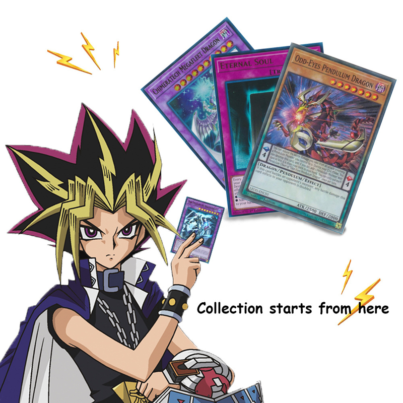 153pcs / Set Yu Gi Oh Trading Game Cards Legendary Dragon Decks English Cards Anime Yugioh Game Cards For Collection Hx225 #2