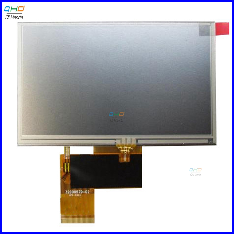 5 INCH lcd display with TOUCH PANEL screen matrix For Prestigio GeoVision 5000 5055 5466 gps touch Replacement Free Shipping