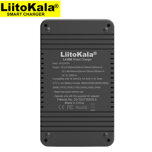 Image 3 - LiitoKala Lii 500 18650 Sạc, sạc 18650 1.2V 3.7V 3.2V 3.85V AA/AAA 26650 16340 25500 NiMH Pin Lithium Sạc