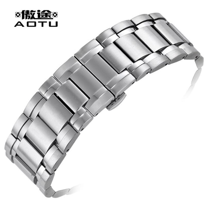 где купить Stainless Steel Watchbands For Tissot 1853 T061.717 Men Watch Straps 24 X 16mm Top Quality Watch Band Curved Male Bracelet Belt по лучшей цене