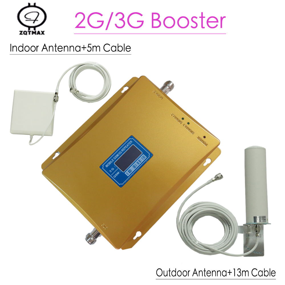 GSM 900MHz UMTS 2100MHz Dual Band Booster GSM 3G Repeater Cell Phone GSM WCDMA Signal Repeaters GSM 3G Amplifier Signal Booster