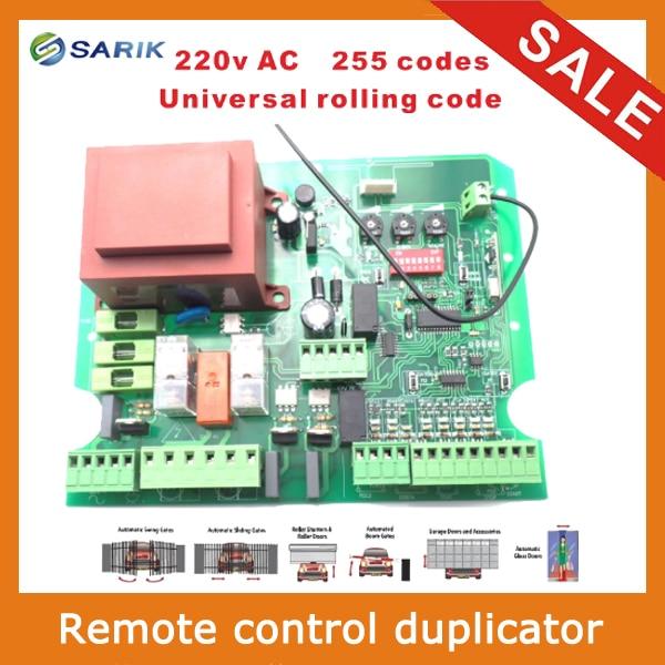 купить Swing gate opener motor pcb circuit board controller card for 220V AC swing linear motor actuators недорого