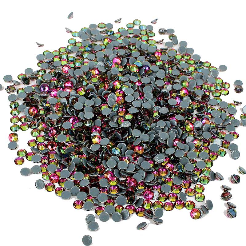 RainBow Color For 3D Nails Art Strass Glass Flatback Hotfix Crystal Rhinestones Stickers Backpack Design Decorations Accessoires strass glass ab rhinestones non hotfix ss20 4 8 5 0mm for 3d nails art design decorations crystal for nails gel nail accessories