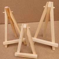 10Pcs Mini Wooden Artist Easel Wedding Table Number Place Name Card Display Stand Holder For Wedding