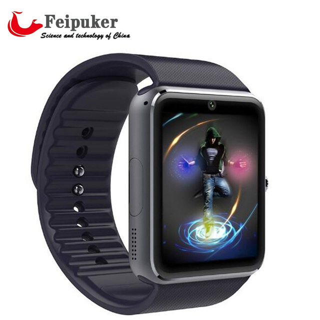 2017 New Smart Watch Clock With Sim Card Slot Push Message Bluetooth Connectivity Android Phone Better Than KW88 Smartwatch